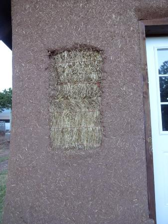 Kingston, NM: Eco-friendly building material.