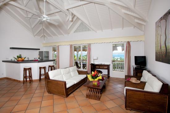 Hotel La Plantation: Upper Level Suite