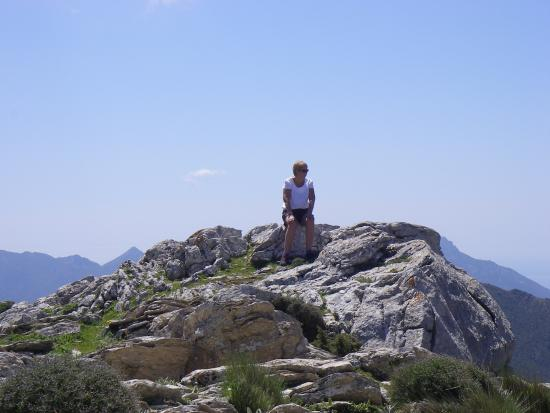 El Burgo, Spagna: Scary drive from Yunquera then walk to the top for amazing views.