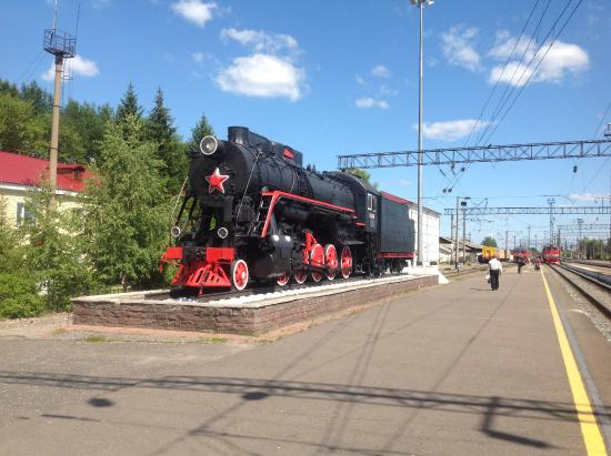 Monument Locomotive Pobedy L-2248