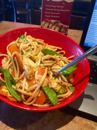 Genghis Grill: Perfect place for a working lunch....