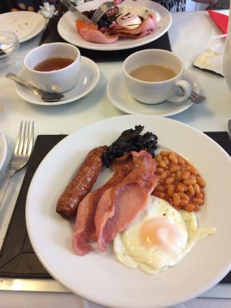 Newport Quay Hotel: Full English Breakfast.