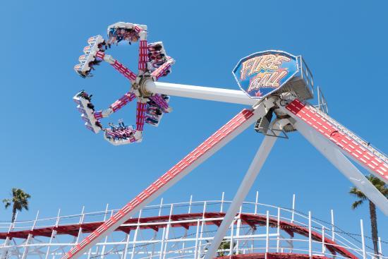 Santa Cruz Beach Boardwalk Best Ride For Thrill Seekers Not Eat Beforehand