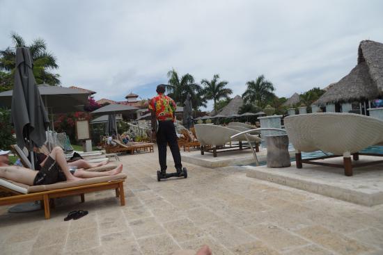 Sandals Grenada Resort and Spa: speedy butler service