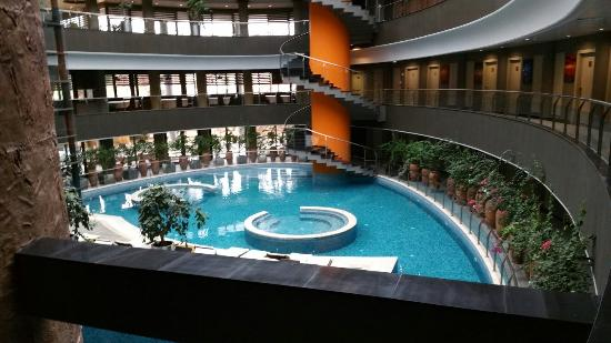 Termales dentro del hotel