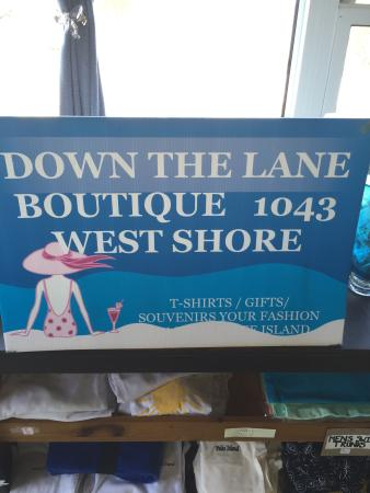 Down the Lane Boutique and Gifts