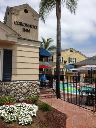 Coronado Inn is a quaint boutique hotel right in the heart of Coronado Island
