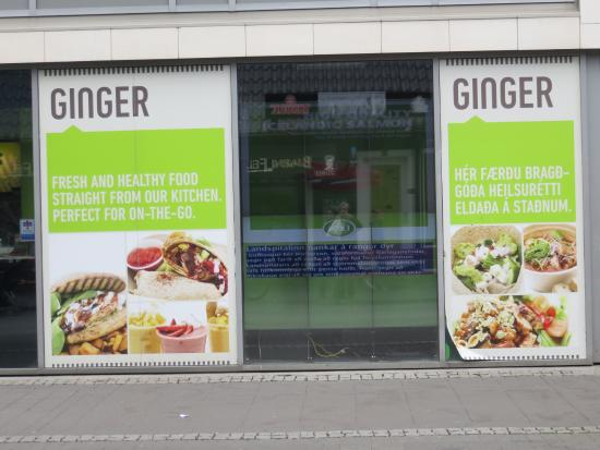 Ginger : The display