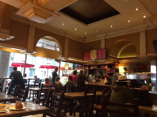 Caffe Artigiano: Inside