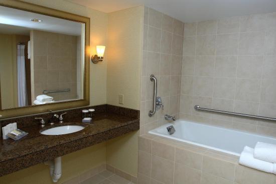 Hilton Garden Inn Baltimore/Arundel Mills: Accessible Bathroom