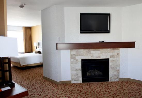 Logan, Utah: Whirlpool Suite Living Area