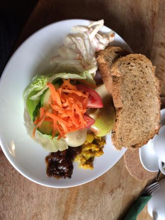 Bovey Tracey, UK: Ploughmans lunch