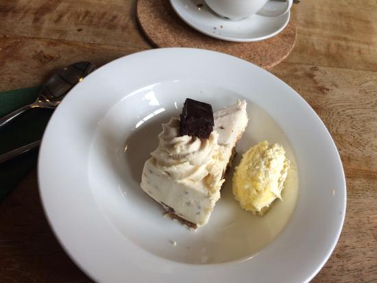 Bovey Tracey, UK: Cheesecake