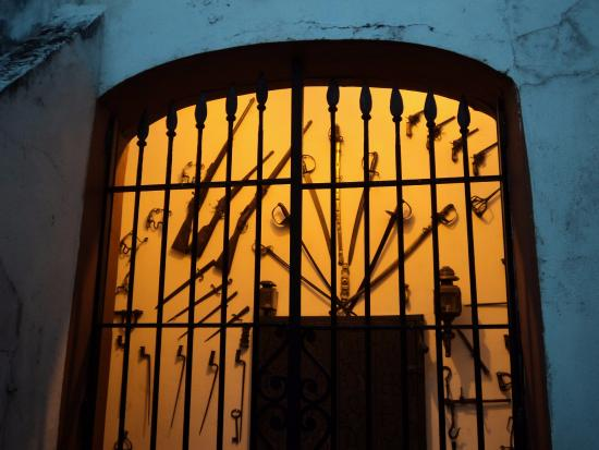Museo Municipal Casa de Delio Panizza: Exhibición de armas