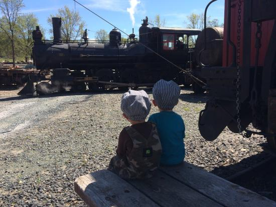 "Jamestown, CA: Seeing No. 3, the ""Back To the Future"" steam engine is always a treat"