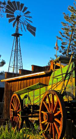 Shafer Historical Museum: Wagon