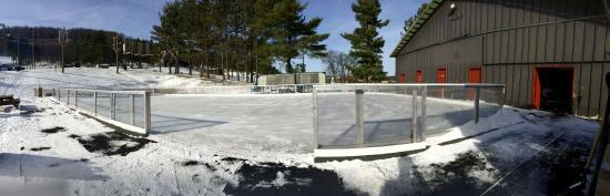 Wisp Resort Ice Rink