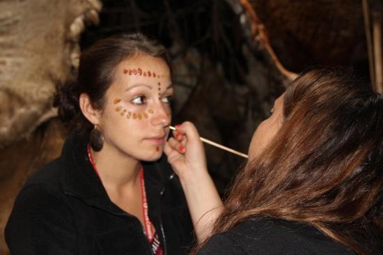 Paléosite  Maquillage préhistorique