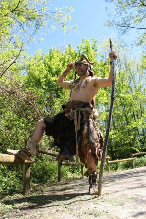Saint-Cesaire, Francja: Kumbawa l'Homme de Néandertal