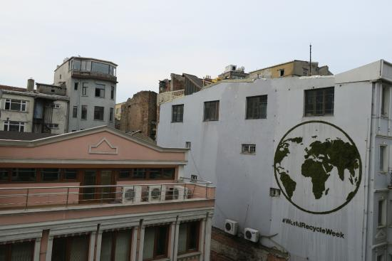 Portus House Istanbul: View from third floor room