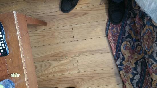 Ottawa Inn: Chambre très petite, matela creuse à rien, pas une petite boîte de kleenex un coin assez pauvre,