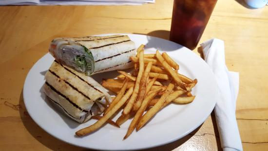 East Windsor, CT: Tuna Fish Wrap