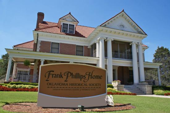 Bartlesville, OK: Frank Phillips Home