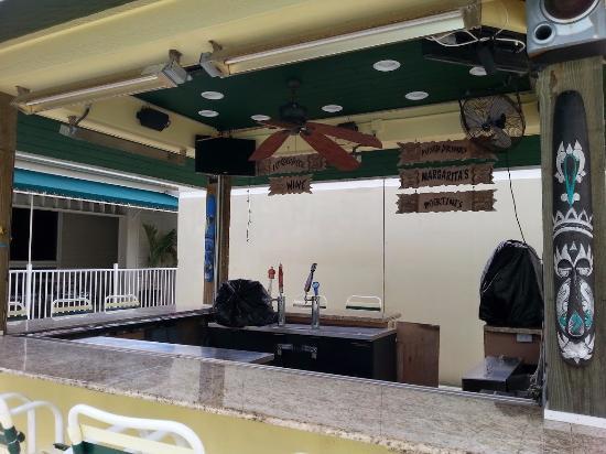 Longboat Key, Floride : Poolside Tiki