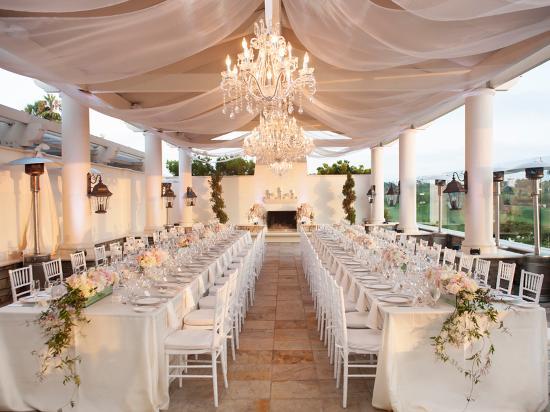 Wedding ready at the St. Regis Monarch Beach Resort, Dana Point
