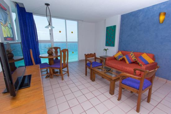 Oleo Cancun Playa: Habitación Superior Vista al mar