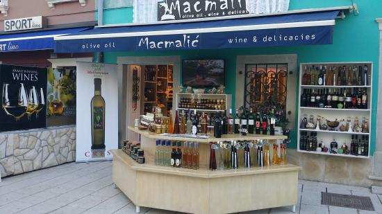 """Macmalic"" Olive Oil , Wine & Delicacies"