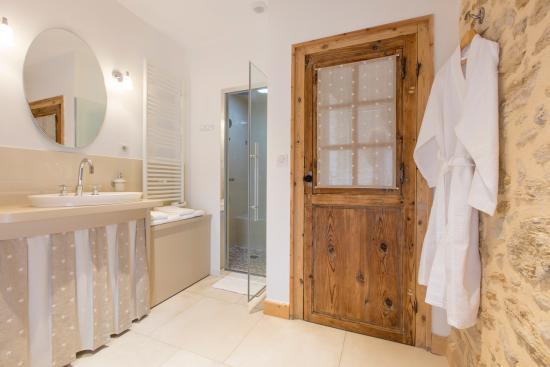 Sauternes, Frankrike: La Sauternaise - Salle de bain Hamman