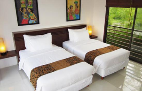 Ubud Green: Twin Bedroom