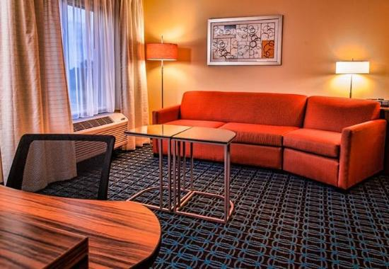 Hope Hull, AL: King One-Bedroom Suite Living Area