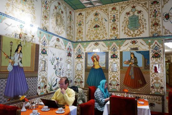 Abbasi Hotel: Brakfast hall