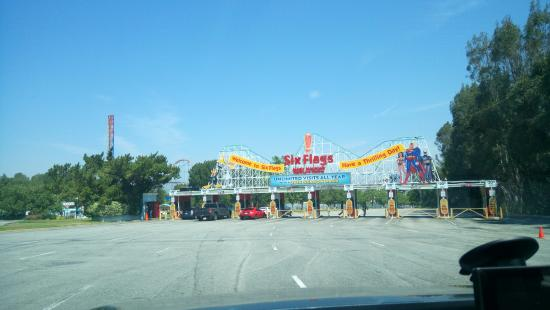 Santa Clarita, CA: National Lampoon's Vacation :D, nah, it is the actual six flags amusement park