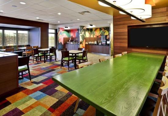Jeffersonville, Οχάιο: Breakfast Dining Area