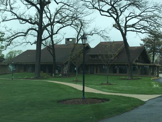 Delavan, WI: View of main lodge