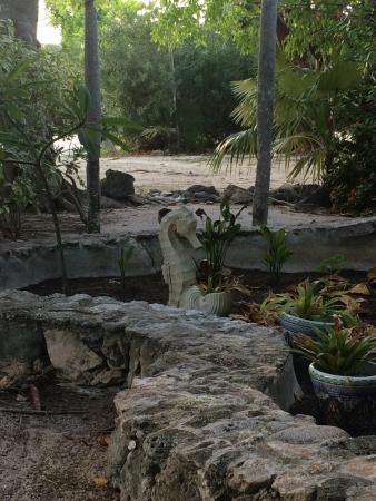 Pirates Point Resort: SeaHorse Sculpture