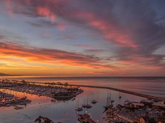 Dana Point Harbor Sunset