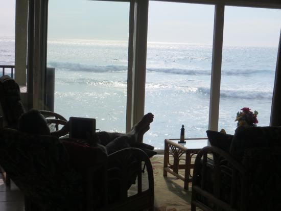 Kona Banyan Tree: Ocean View from Living Room