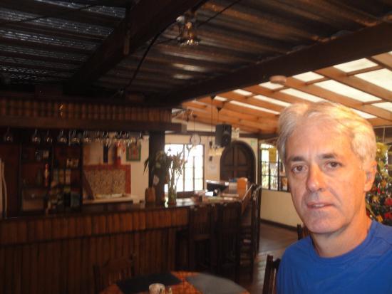 El Arupo: Restaurante/área do café da manhã.