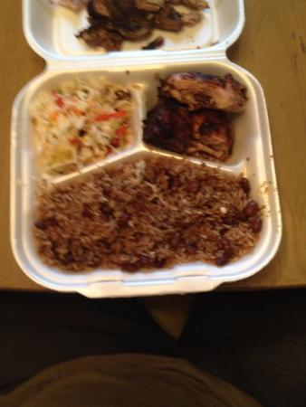 Leftovers Too Much To Eat Picture Of Maams Jamaican Restaurant