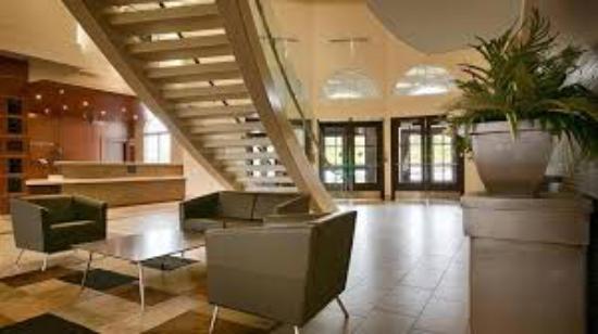Orangeville, Kanada: A view on the reception & lobby