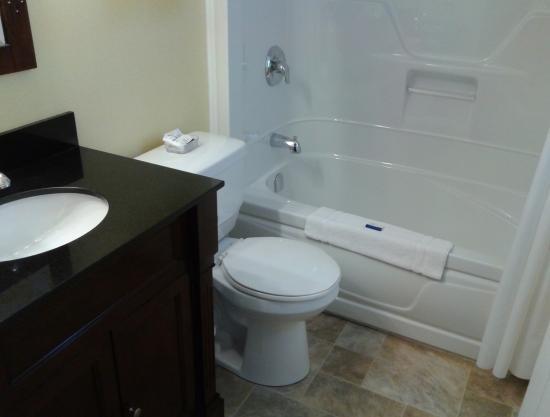 Clark's Sunny Isle Motel: Brand new, very clean bathroom