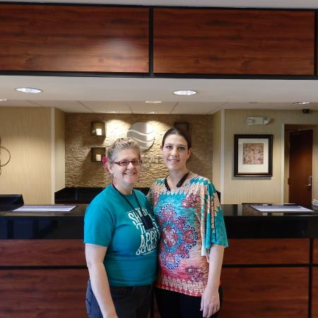 Comfort Inn East: Simply Sharon and GM Rebecca Milan