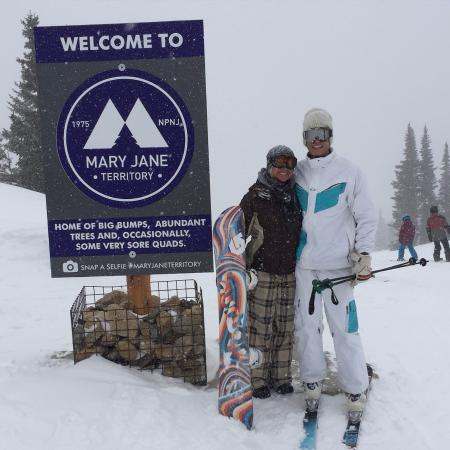 Winter Park Resort : Day before flying to the tropics...