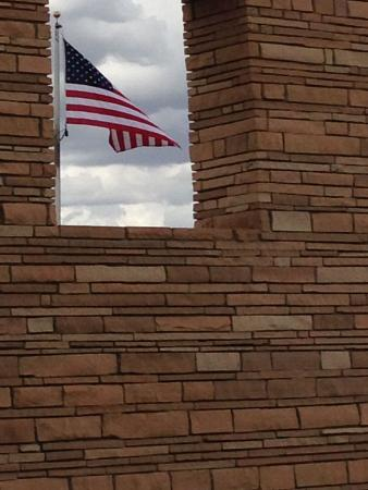 Farmington, Nuevo Mexico: Beautiful brick/stone walls!