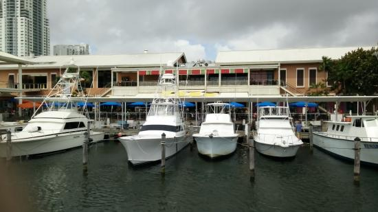 Largo Bar & Grill: From the boats