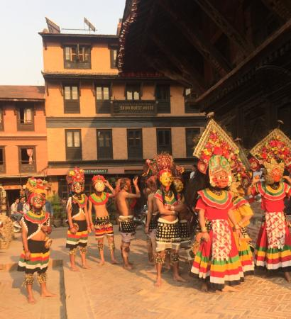Shiva Guest House1 & 2: On request cultural dance